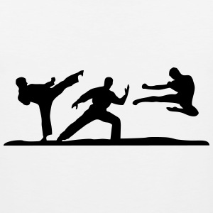Martial Arts - 3 Fighters Canotte - Canotta premium da uomo