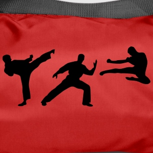 Martial Arts - 3 Fighters Vesker & ryggsekker - Sportsbag