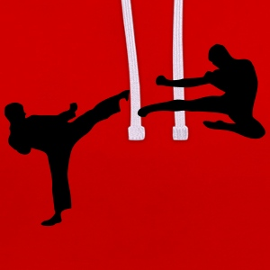 Martial Arts - 2 Fighters Sweat-shirts - Sweat-shirt contraste