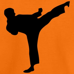 Martial Arts Fighter 1 T-shirts - Teenager premium T-shirt