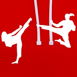 Martial Arts - women Sweat-shirts - Sweat-shirt contraste