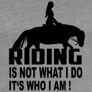 Riding! T-Shirts - Women's Premium T-Shirt