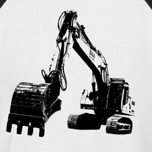 excavator T-Shirts - Men's Baseball T-Shirt