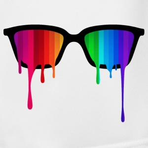 Rainbow - Spectrum (Pride) / Hipster Nerd Glasses Trousers & Shorts - Men's Football shorts
