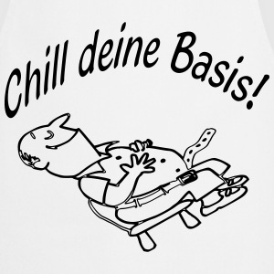 Chill deine Basis Mann -1  Aprons - Cooking Apron