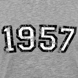 Year 1957 Birthday Vintage T-Shirts - Men's Premium T-Shirt