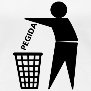 PEGIDA-in-the-Trash T-Shirts - Frauen Premium T-Shirt