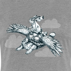 Flying Tortoise T-Shirts - Frauen Premium T-Shirt