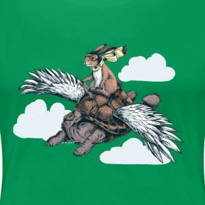 Flying Tortoise T-Shirts - Women's Premium T-Shirt