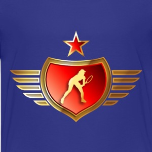tennisspielerin_072015_b21 T-Shirts - Teenager Premium T-Shirt