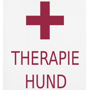 Therapiehund -2R- - Mousepad (Hochformat)