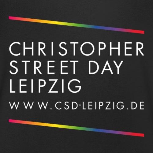 CSD Leipzig Logo mit weißer Schrift