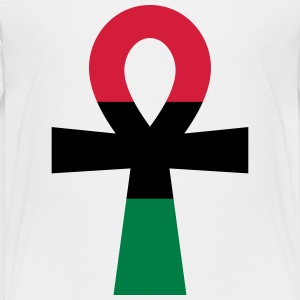 Red, Black & Green Ankh Shirts - Kids' Premium T-Shirt
