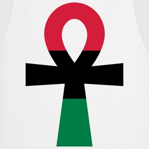 Red, Black & Green Ankh  Aprons - Cooking Apron