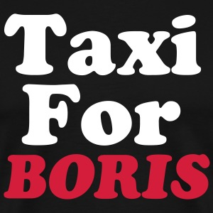 TAXI FOR BORIS - Men's Premium T-Shirt