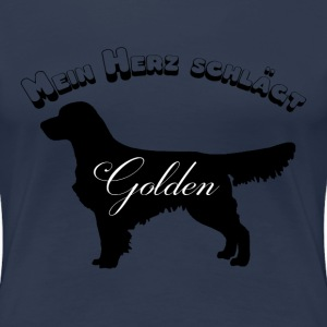 Golden Retriever Shirt - Frauen Premium T-Shirt