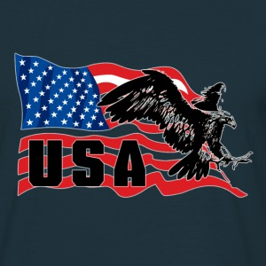 USA Eagle aigle - T-shirt Homme
