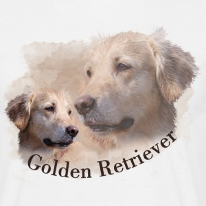 Golden Retriever Shirt - Männer T-Shirt