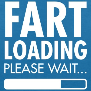 Fart Loading - Please Wait T-Shirts - Frauen T-Shirt mit V-Ausschnitt