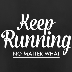 Keep Running - No Matter What T-skjorter - Pustende T-skjorte for kvinner