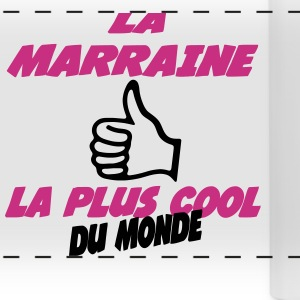 La marraine la plus cool du monde  222 Mugs & Drinkware - Panoramic Mug