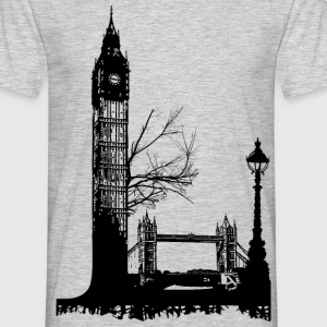 AD L like London T-shirts - Herre-T-shirt
