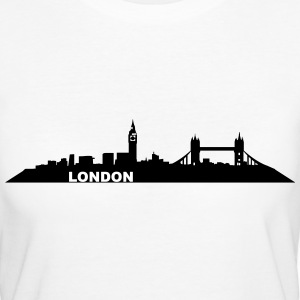 London Skyline - Frauen Bio-T-Shirt