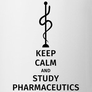 keep calm and study pharmaceutics Tazze & Accessori - Tazza