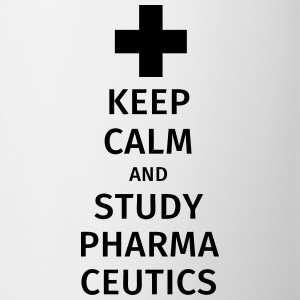 keep calm and study pharmaceutics Kubki i dodatki - Kubek