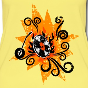 Exploding Turntable Tops - Frauen Bio Tank Top