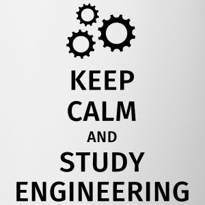 keep calm and study engineering Tazze & Accessori - Tazza
