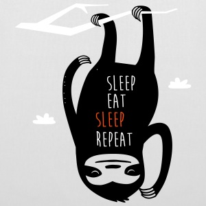 Sleep-Eat-Sleep-Repeat-Bag - Stoffbeutel