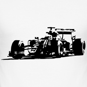Formula One - Racecar T-Shirts - Männer Slim Fit T-Shirt