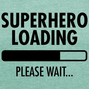 Superhero Loading- Please Wait... Magliette - Maglietta da donna con risvolti
