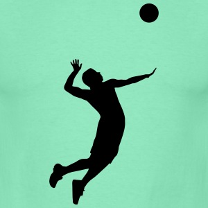 Volleyball, Volleyball Player T-shirts - T-shirt herr