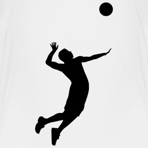 Volleyball, Volleyball Player Skjorter - Premium T-skjorte for barn