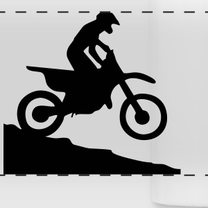 Motocross Mugs & Drinkware - Panoramic Mug