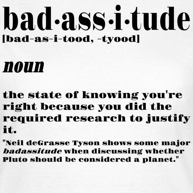 badassitude t shirt