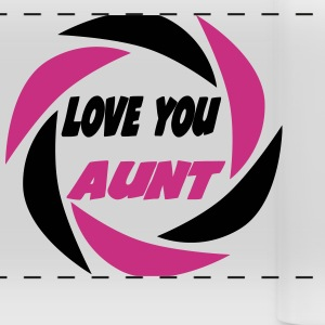 Love you aunt 333 Mugs & Drinkware - Panoramic Mug