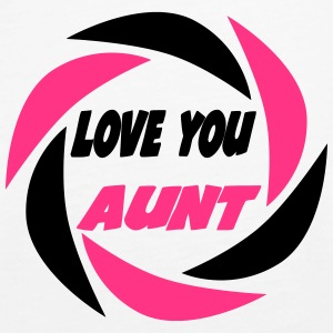 Love you aunt 333 Tops - Women's Premium Tank Top