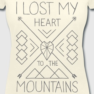 Mountain Love T-Shirts - Women's V-Neck T-Shirt