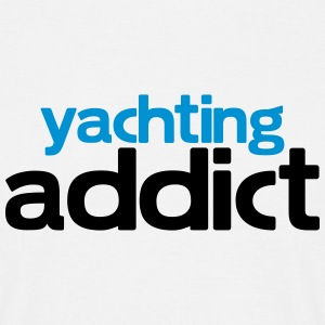 yachting addict T-Shirts - Men's T-Shirt