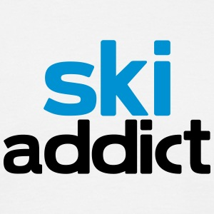 ski addict T-Shirts - Men's T-Shirt