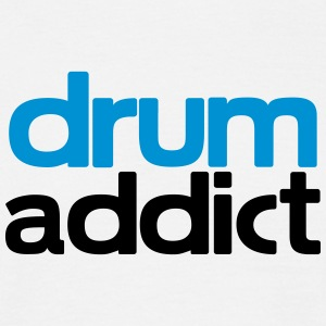 drum addict T-Shirts - Men's T-Shirt