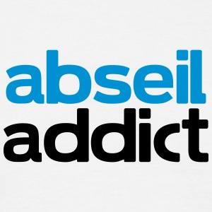 abseil addict T-Shirts - Men's T-Shirt