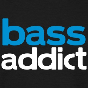 bass addict T-Shirts - Men's T-Shirt