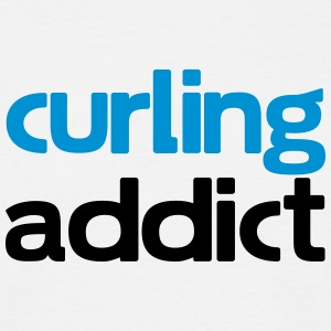 curling addict T-Shirts - Men's T-Shirt