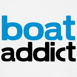 boat addict T-Shirts - Men's T-Shirt