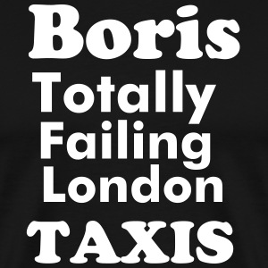 #TFL Totally Failing London Taxis  - Men's Premium T-Shirt