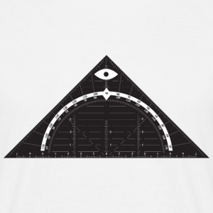 All Seeing Triangle T-Shirts - Men's T-Shirt